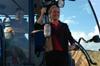 MdB Caren Lay zu Besuch in der Agrargenossenschaft 2012 - Bild 12