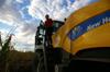 MdB Caren Lay zu Besuch in der Agrargenossenschaft 2012 - Bild 14