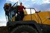 MdB Caren Lay zu Besuch in der Agrargenossenschaft 2012 - Bild 15