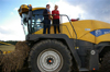 MdB Caren Lay zu Besuch in der Agrargenossenschaft 2012 - Bild 16