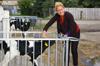 MdB Caren Lay zu Besuch in der Agrargenossenschaft 2012 - Bild 6
