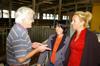 MdB Caren Lay zu Besuch in der Agrargenossenschaft 2012 - Bild 7