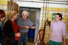 MdB Caren Lay zu Besuch in der Agrargenossenschaft 2012 - Bild 8