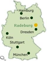 Lage Radeburg