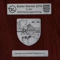 Auszeichnung Bester Betrieb Milchleistungsprüfung